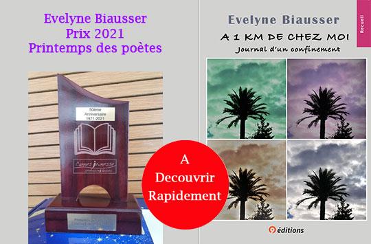 Prix 2021 Printemps des poètes Biausser Evelyne