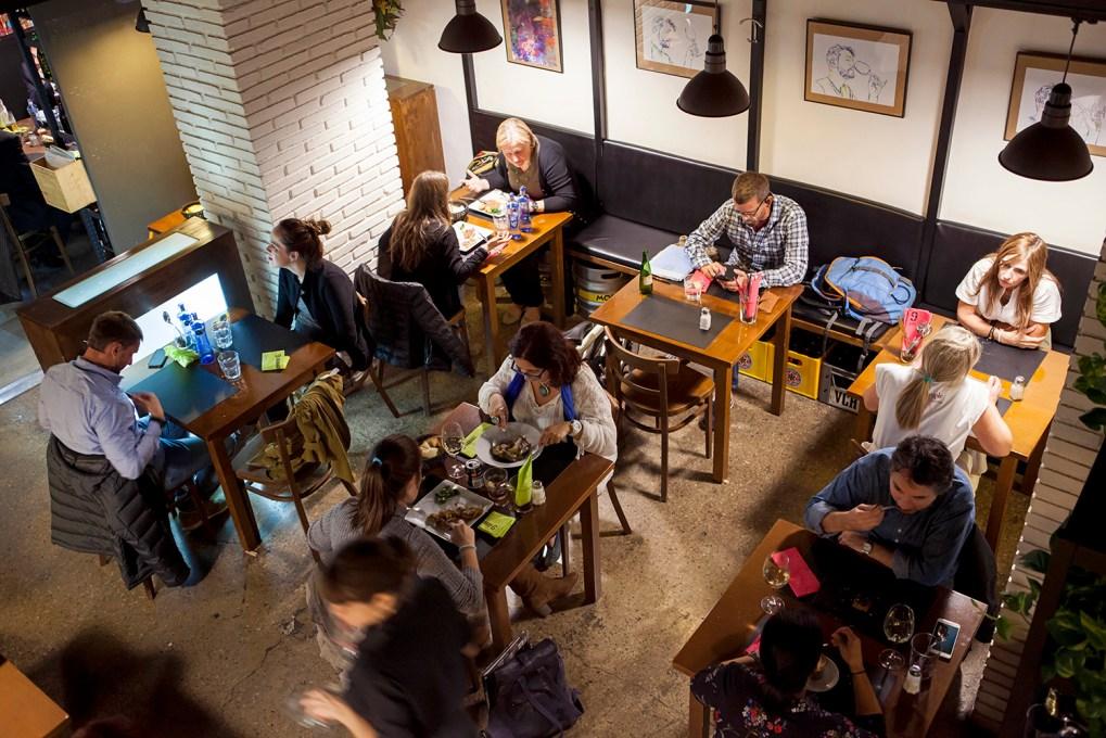 sala aerea, restaurante, 9 Granados