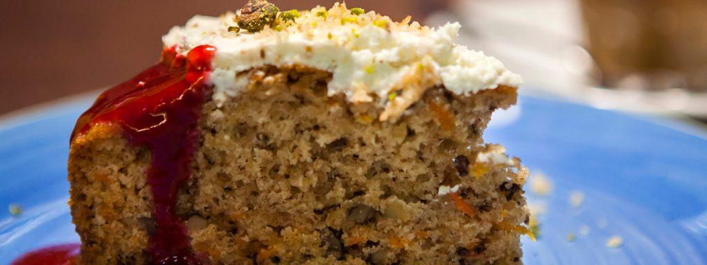 Tarta de zanahoria, carrot cake, postres, delicioso, carta, restaurante, 9 Granados