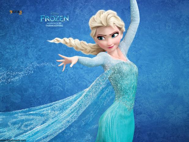 elsa from frozen dress gta5-2