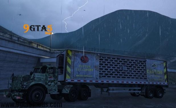 Jurassic Park Vehicles Trailer