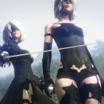 2B And A2 Nier , Automata - Player Mods For GTA5-2