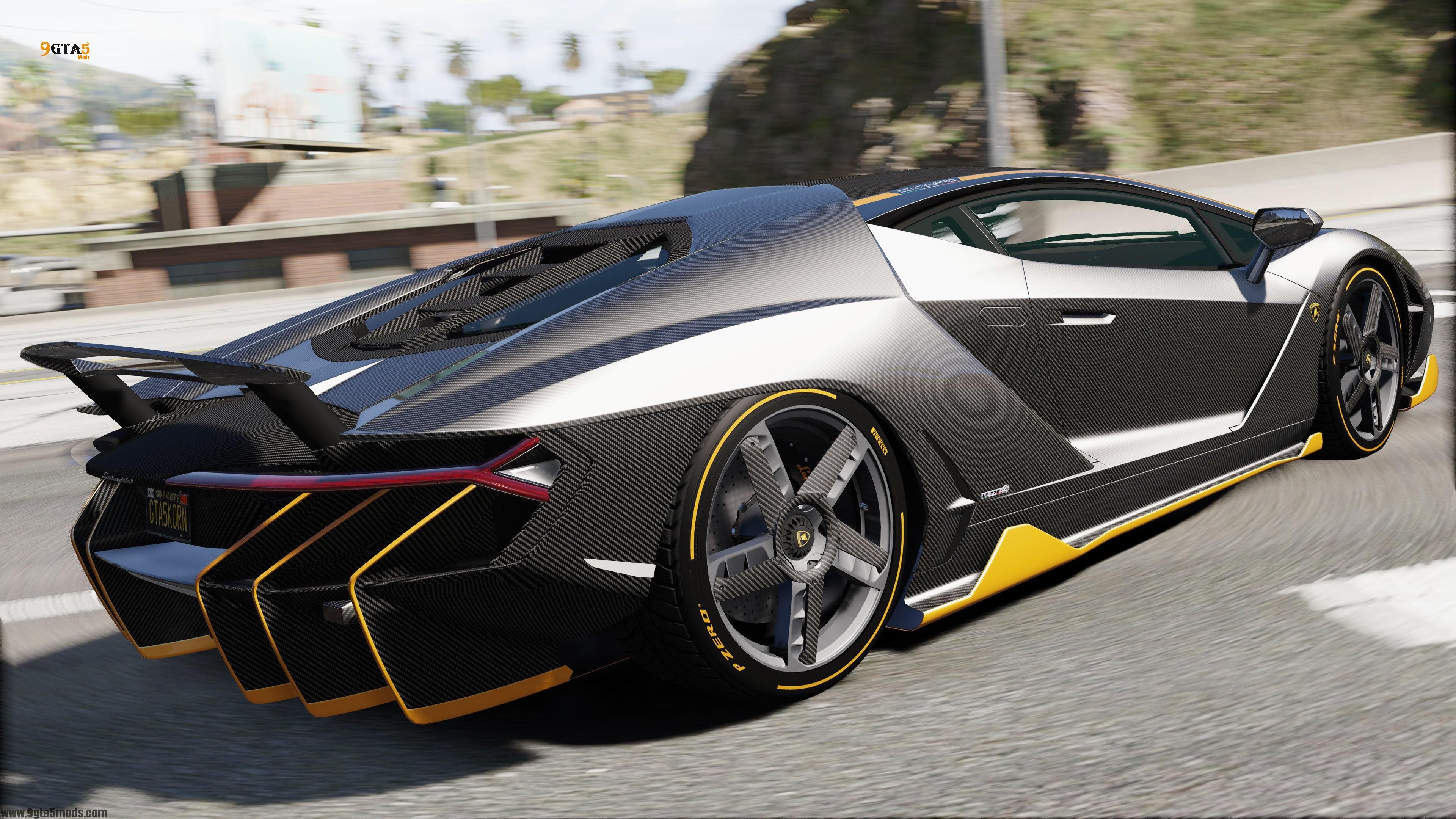 3d Server Wallpaper New 2017 Lamborghini Centenario Sound Gta 5 Vehicles
