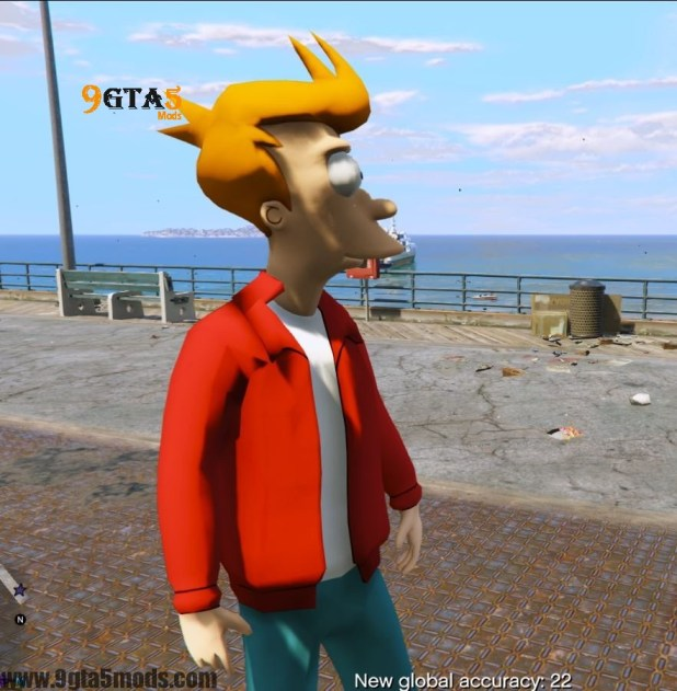 Philip J. Fry (Futurama) – Player Mods For GTA5 2