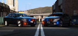 Dodge Charger and Ford Taurus 1.0.1 [Unmarked] – gtaV car