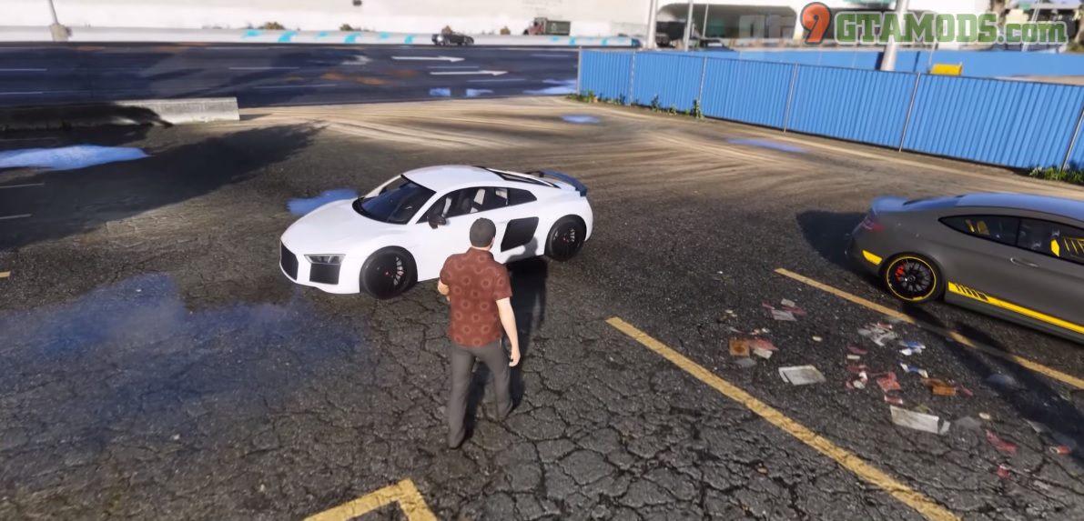 Audi R8 V10 Plus Mod - 2