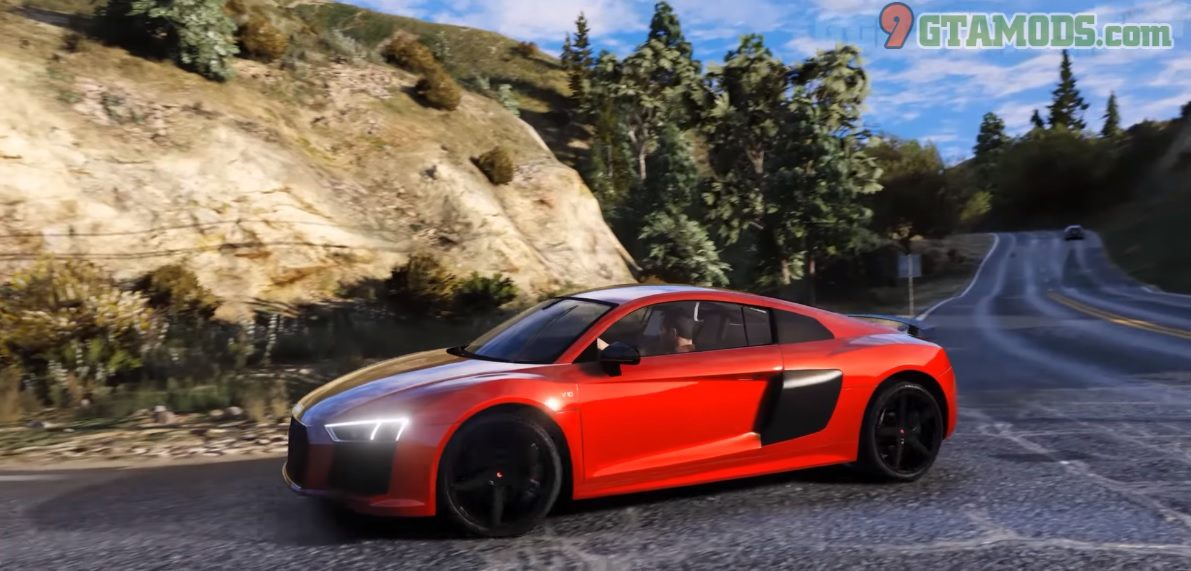 Audi R8 V10 Plus Mod - 5