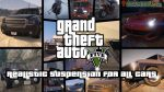 Realistic Suspension For all cars mod for GTA V