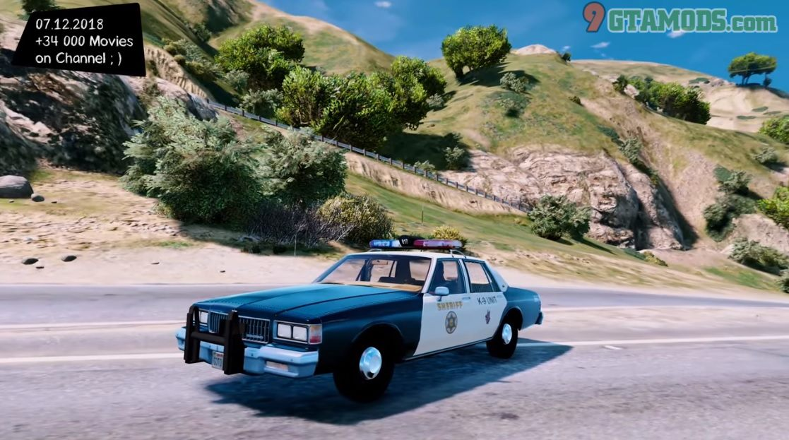 1986 Chevy Caprice 9C1 [Los Angeles County Sheriff's Dept] - 1