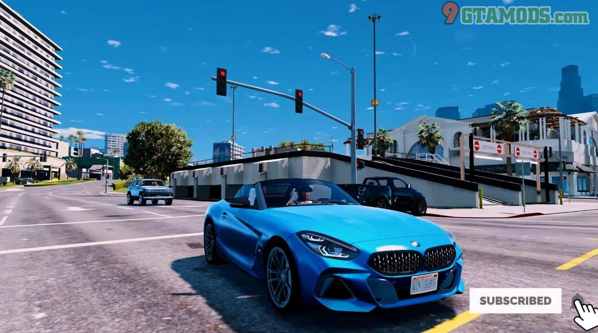 2019 BMW Z4 M40i livery - 2
