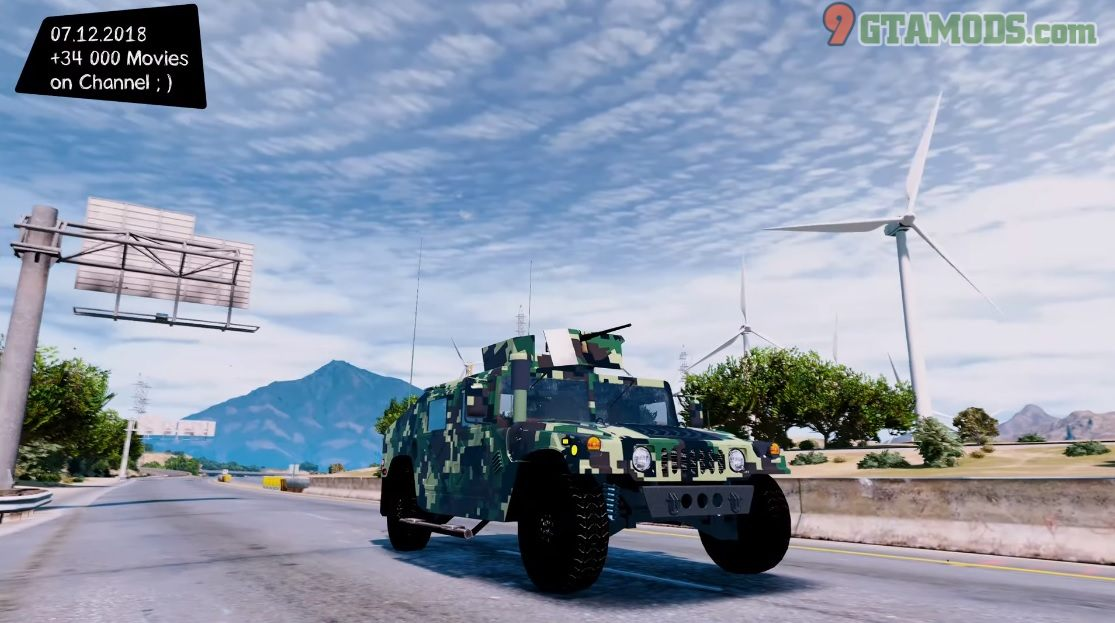 Humvee Armored Royal Thai Army V1 - 2