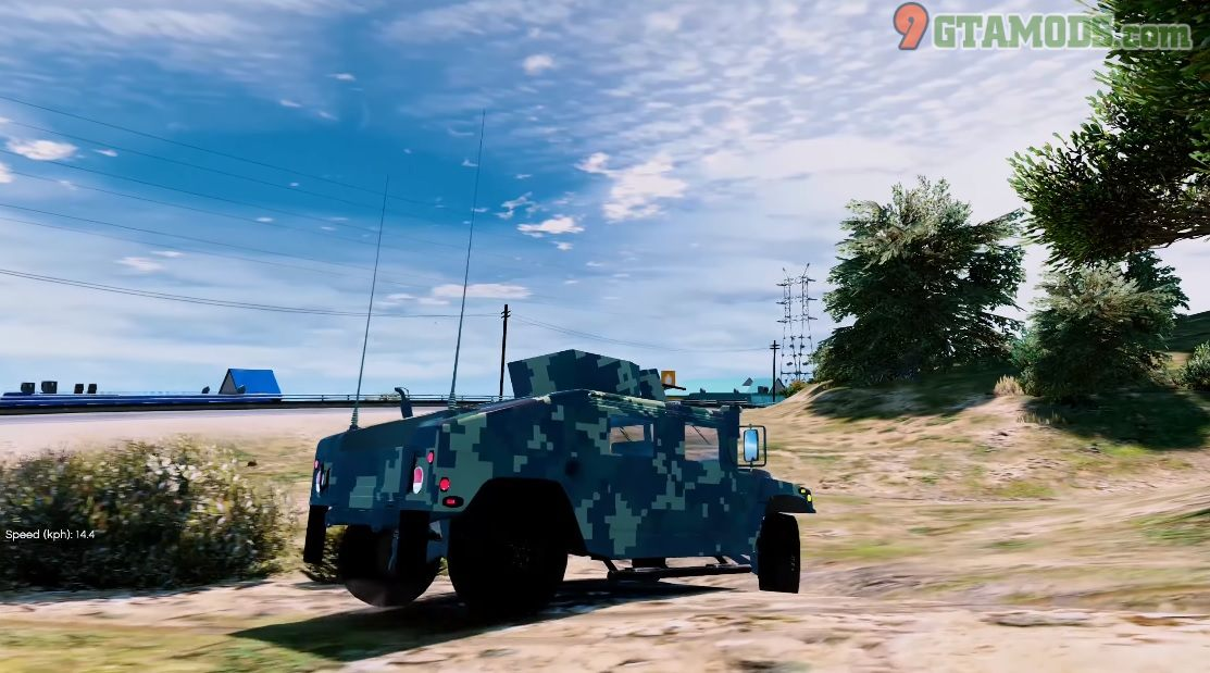 Humvee Armored Royal Thai Army V1 - 6