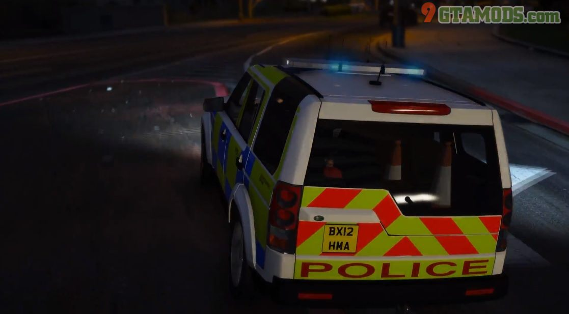 Land Rover Discovery 4 [West Midlands Police] V1.0 - 3
