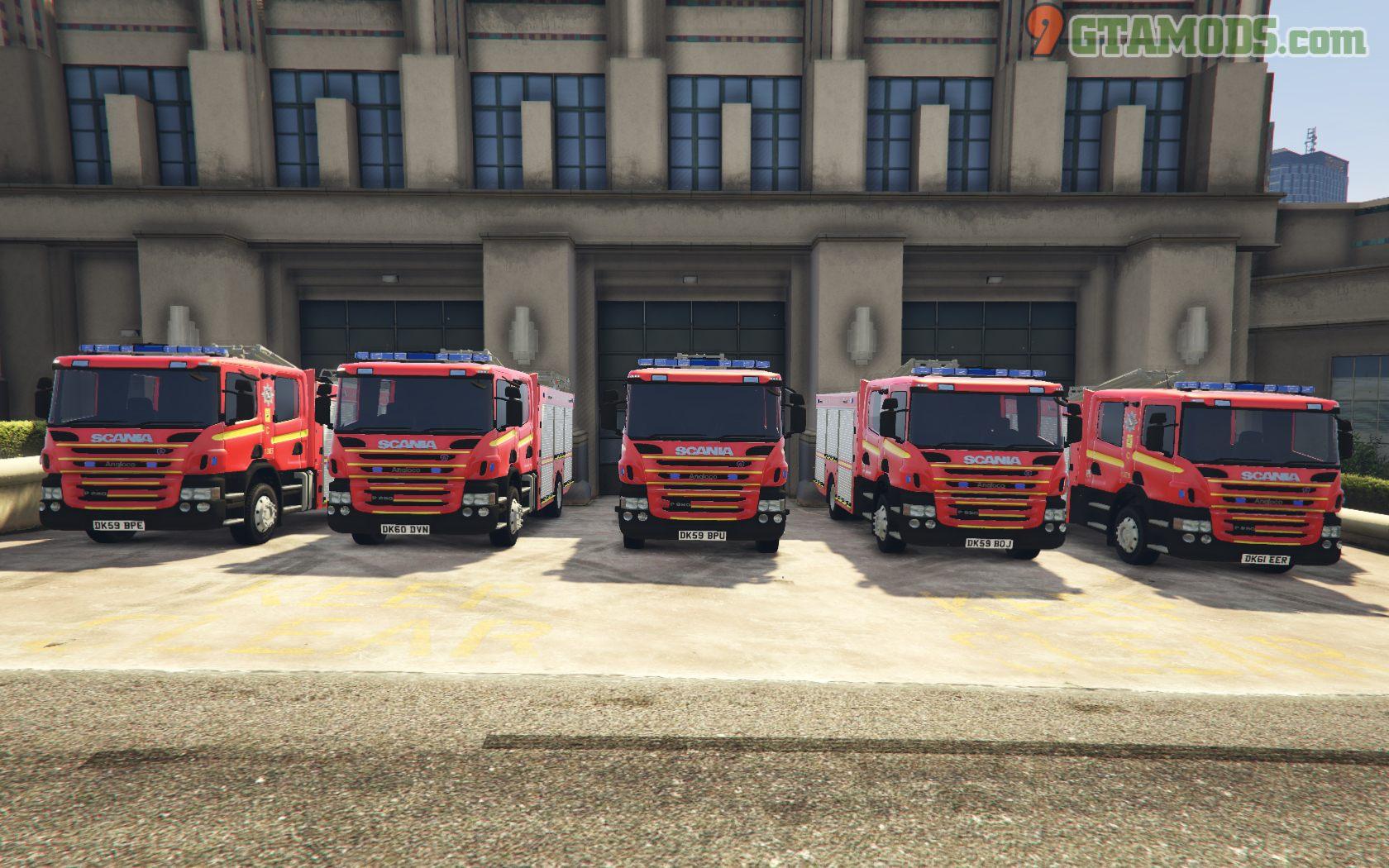 Merseyside Fire & Rescue Service skins V1.0 - 1