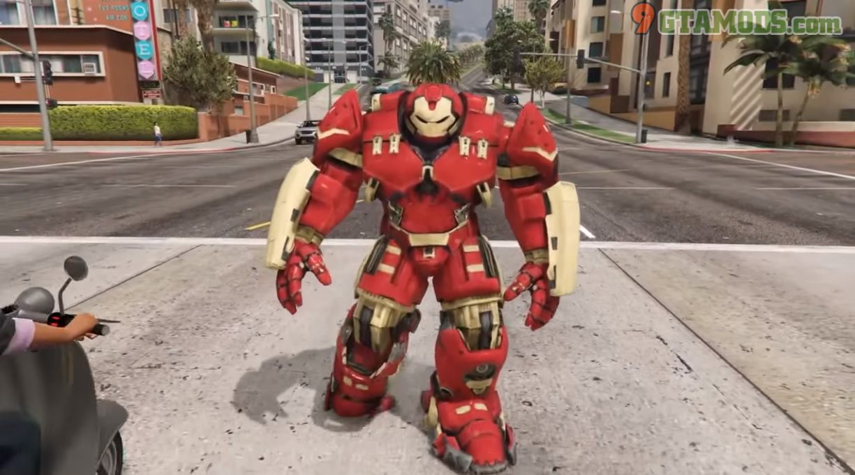 Metallic Hulkbuster Avengers Endgame V1.1 - 2