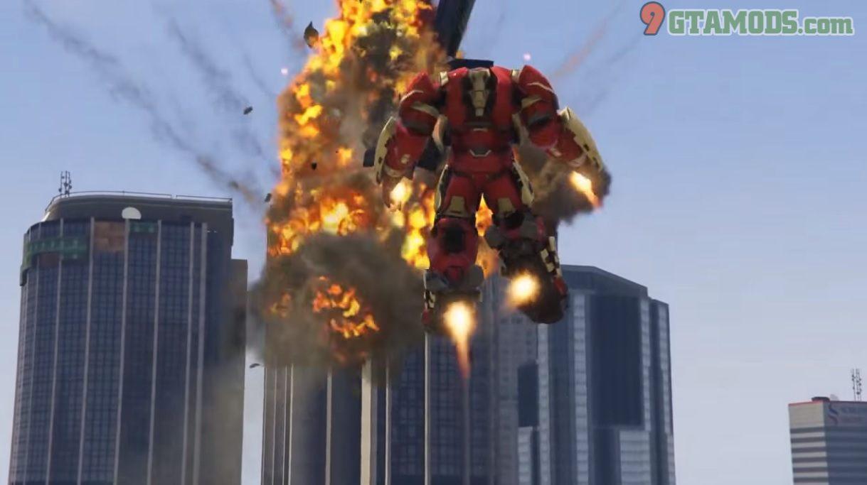 Metallic Hulkbuster Avengers Endgame V1.1 - 4