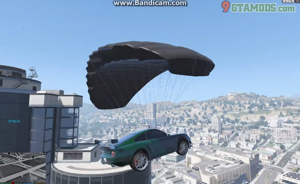 Parachute for All Civilian Vehicles [Update 2] - 2