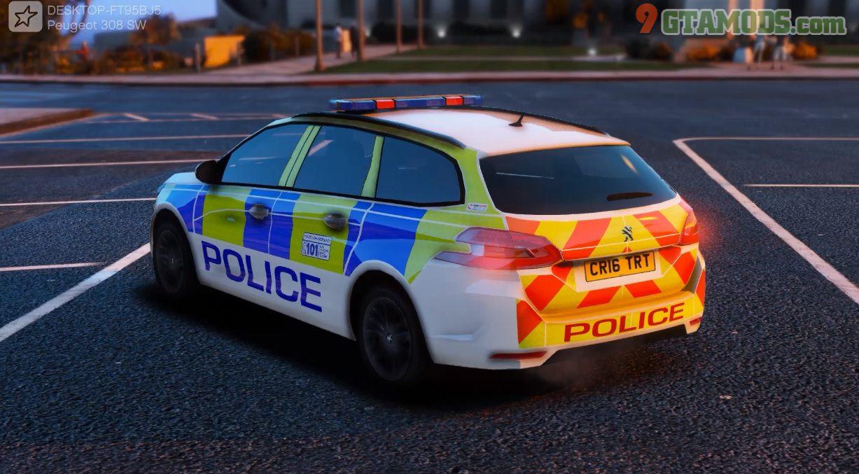 Police Peugeot 308 SW V1.0 - 1