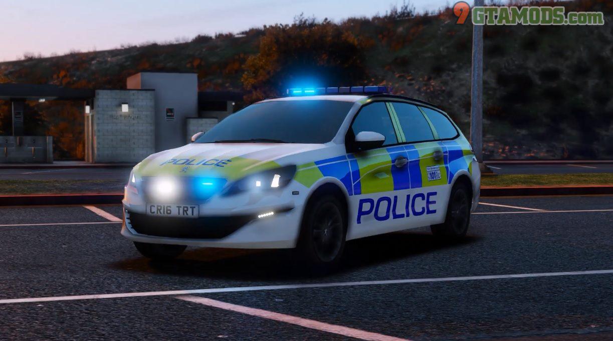 Police Peugeot 308 SW V1.0 - 4