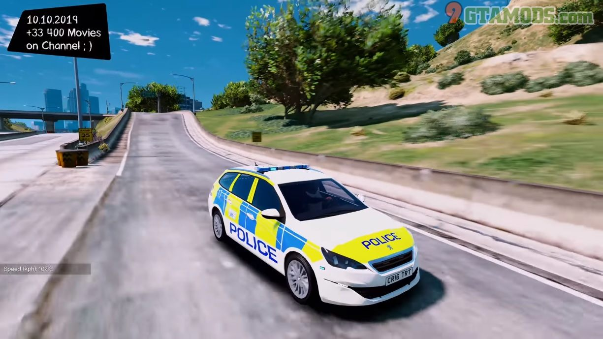 Police Peugeot 308 SW V1.0 - 5