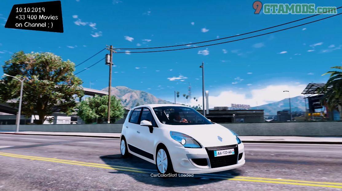 Renault Scenic 2010 V1.0 - 2