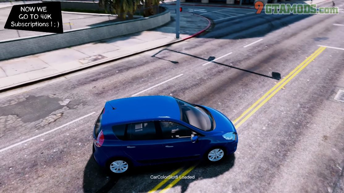 Renault Scenic 2010 V1.0 - 4