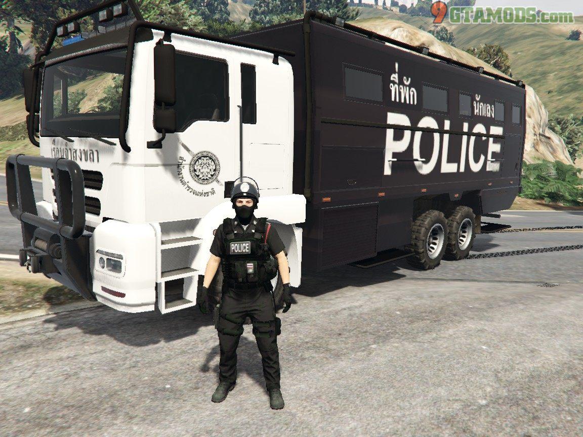 Royal Thai Police Prison Transport V1 - 1