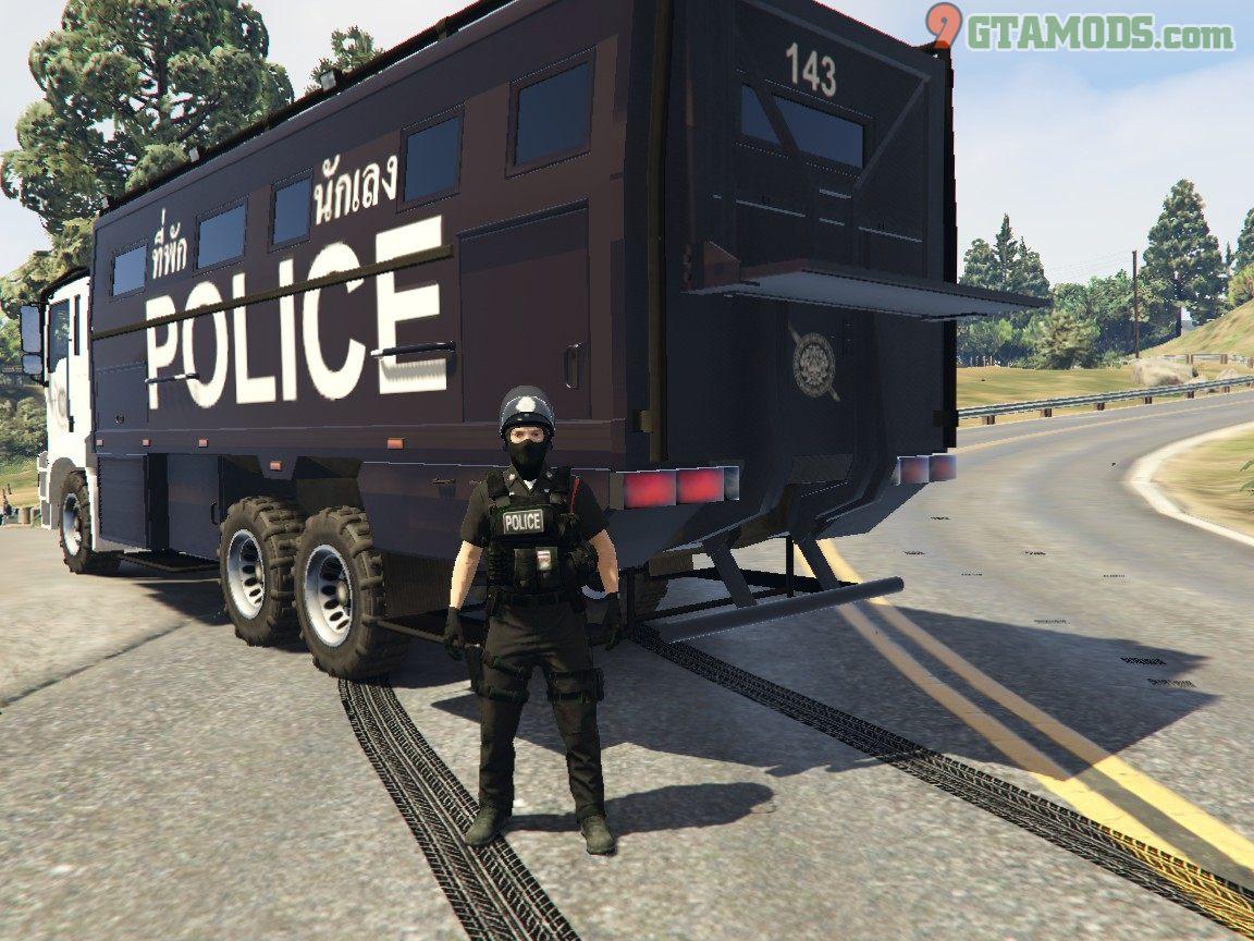 Royal Thai Police Prison Transport V1 - 3