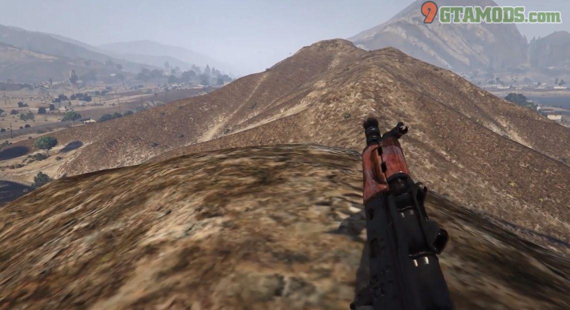 Skin for Jridah's AK-74U V2.0 - 4