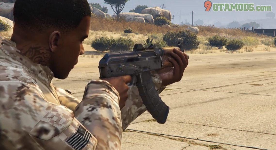 Skin for Jridah's AK-74U V2.0 - 5