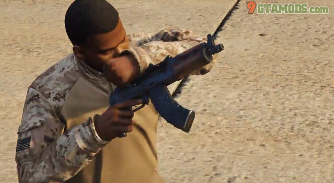 Skin for Jridah's AK-74U V2.0 - 6