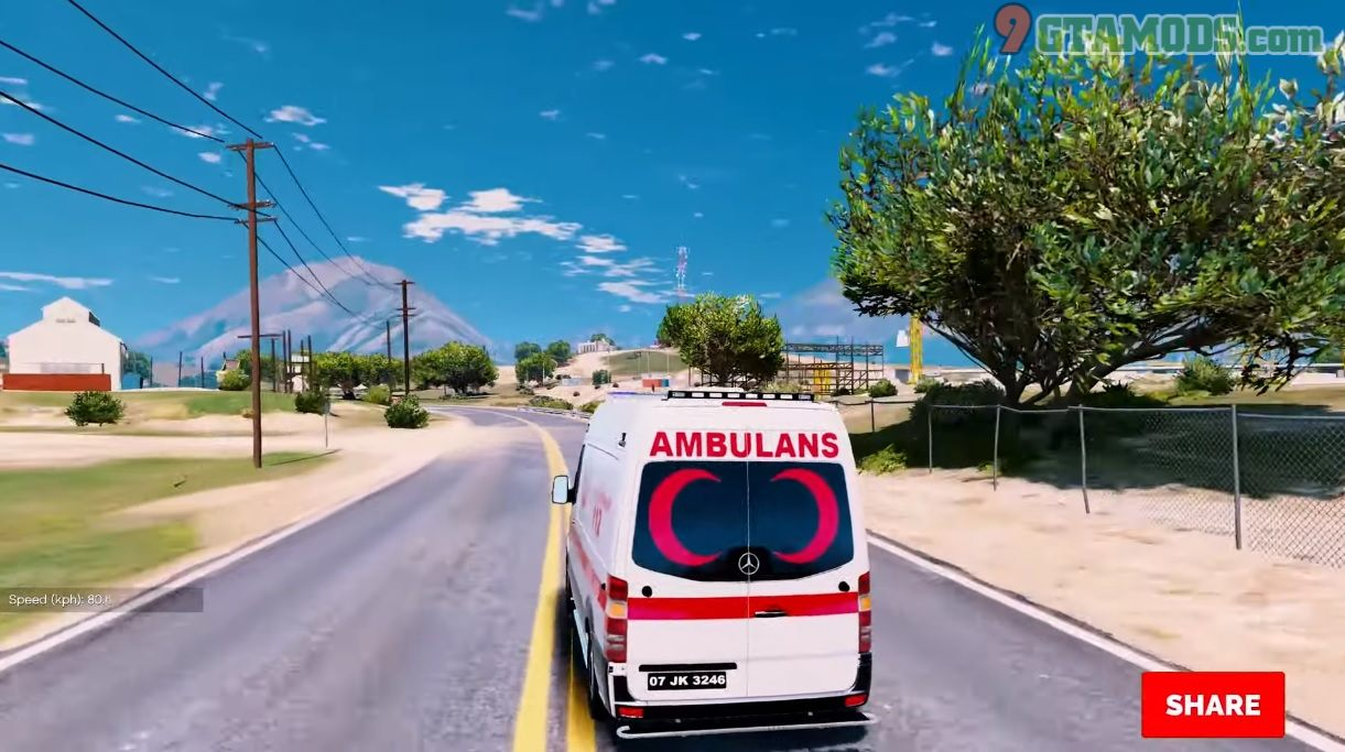 Türk Ambulans Mercedes-Benz Sprinter V1.0 - 5