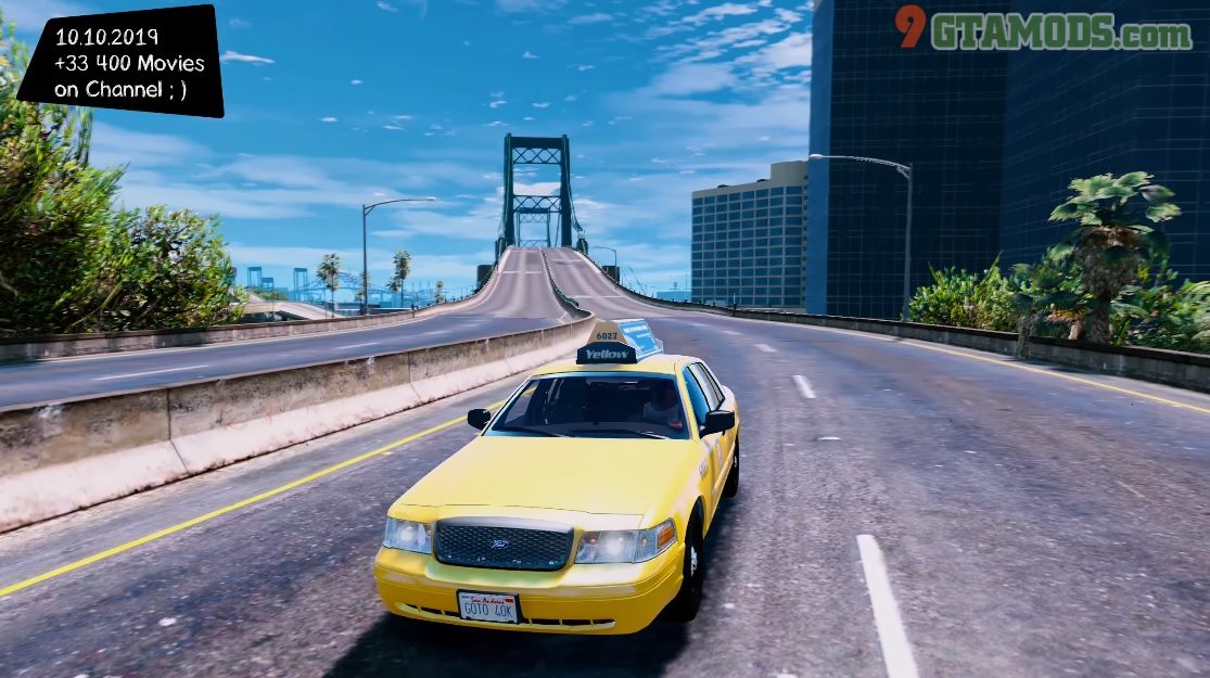 2011 Ford Crown Victoria Los Angeles Taxi V1.1.7 - 2