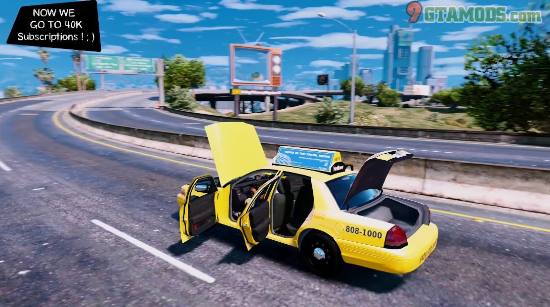 2011 Ford Crown Victoria Los Angeles Taxi V1.1.7 - 3