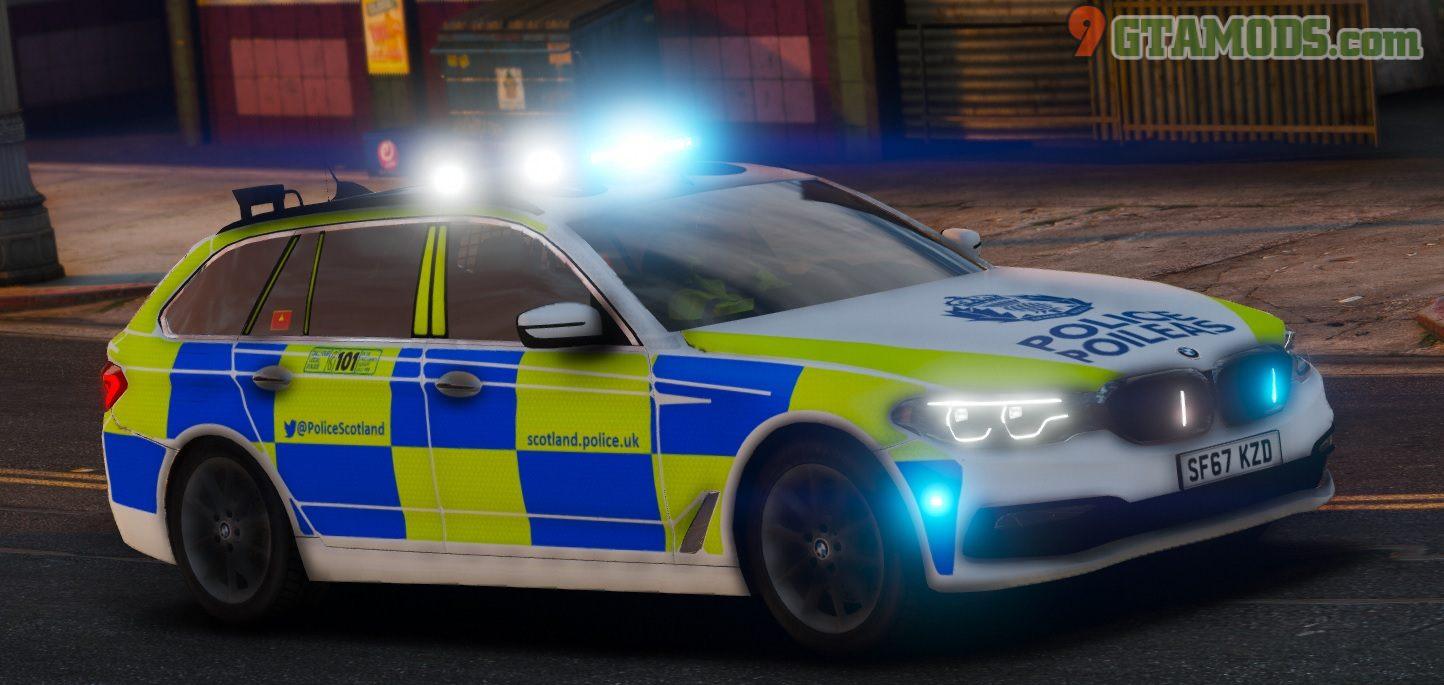 2017 BMW G31 [Scotland Police] V1.1 - 1