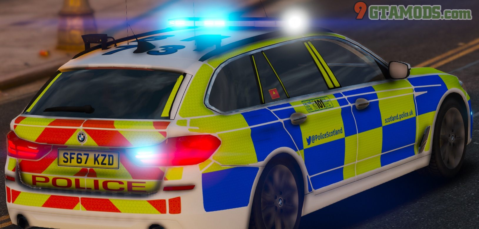 2017 BMW G31 [Scotland Police] V1.1 - 4