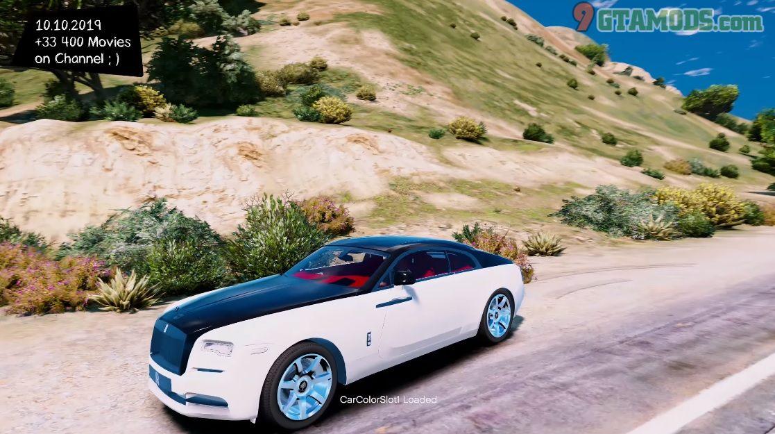2018 Rolls Royce Wraith V1.5 - 2