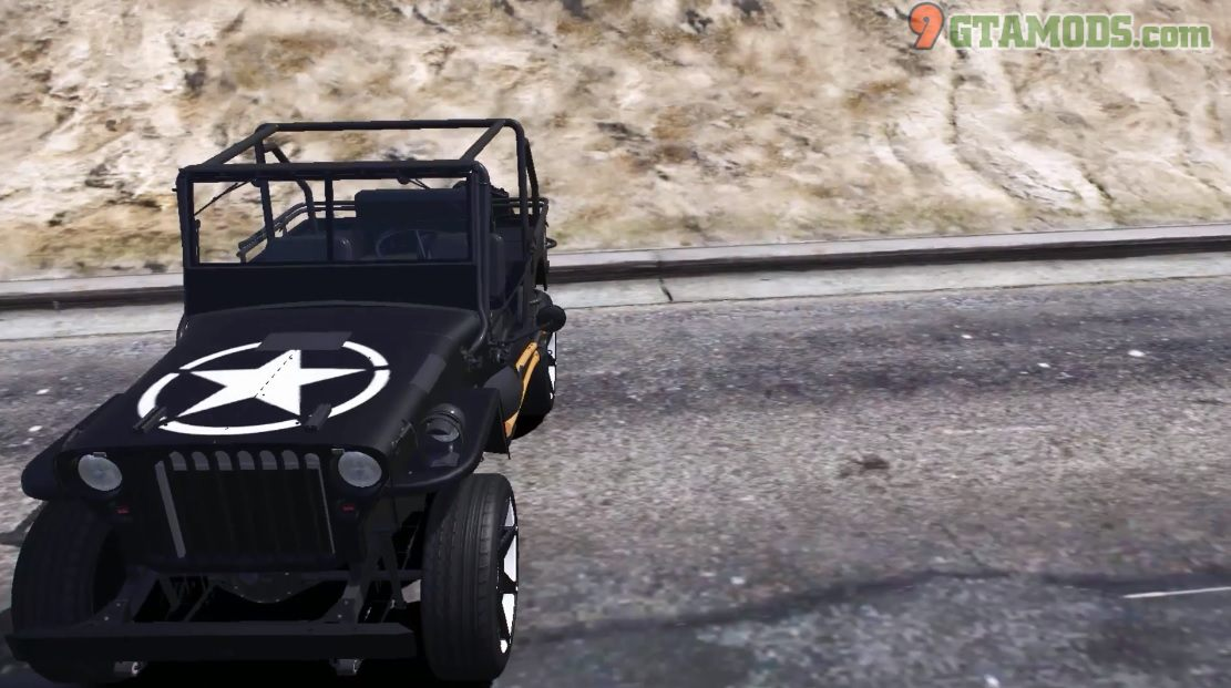 Jeep Willys MB V1.2- 2