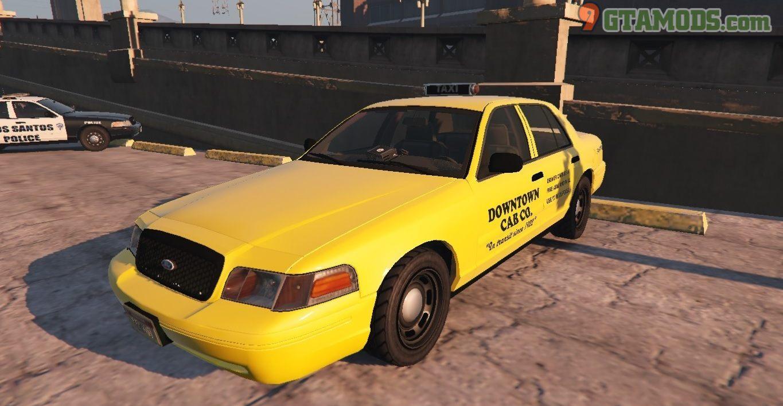 Los Santos Ford Crown Victoria Taxi Texture - 1