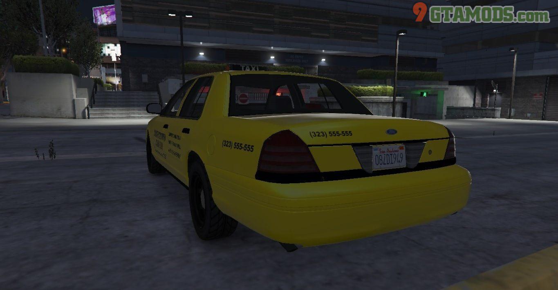 Los Santos Ford Crown Victoria Taxi Texture - 5