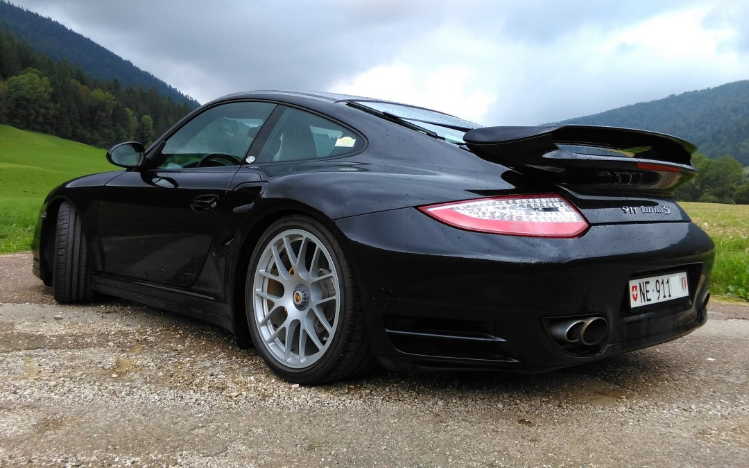 Porsche 997 Turbo S Techart