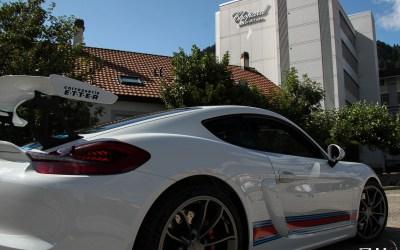 Porsche Cayman 981 GT4