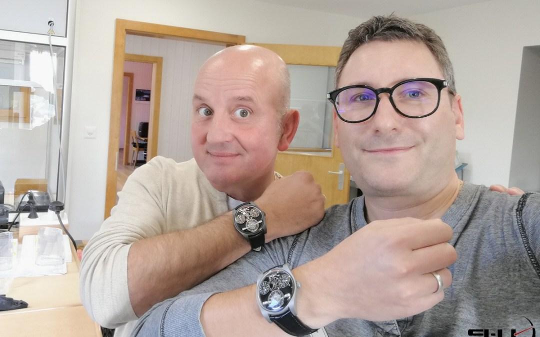 Rencontre avec… Emmanuel Bouchet / Emmanuel Bouchet Timepieces