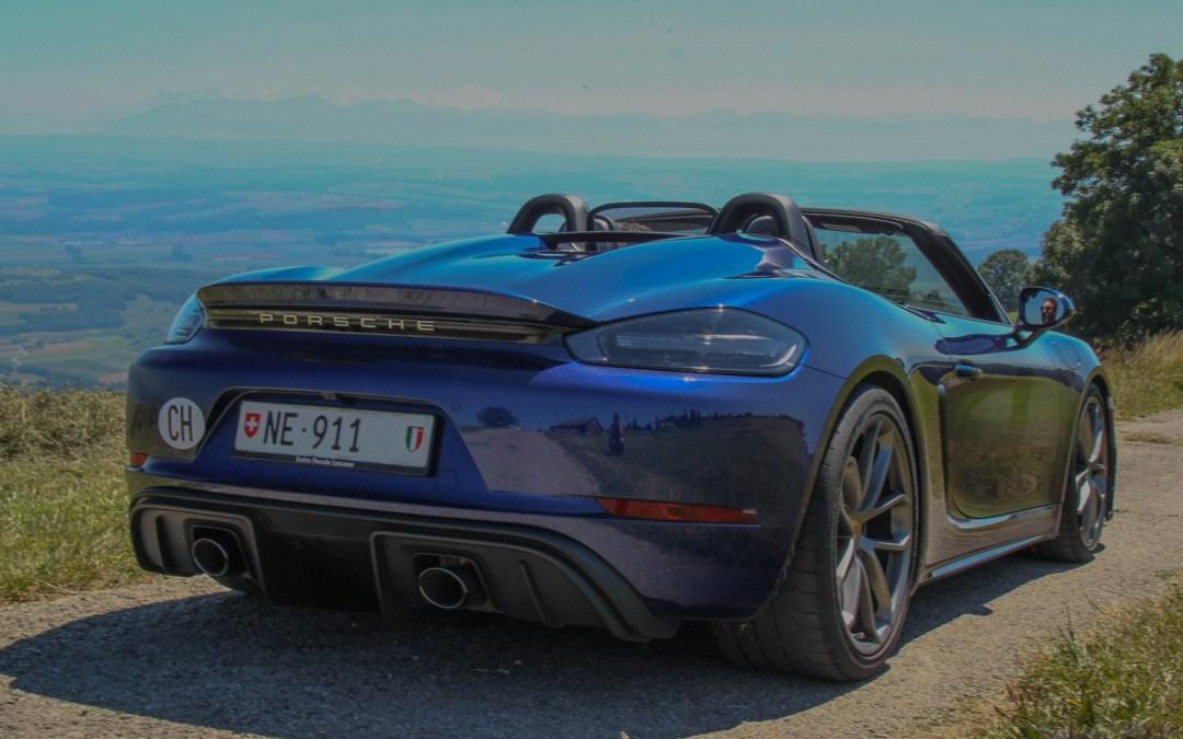 Porsche Boxster 718 Spyder