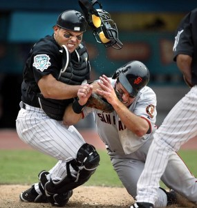 Pudge will always be known as a Ranger but this play is how I remember him.