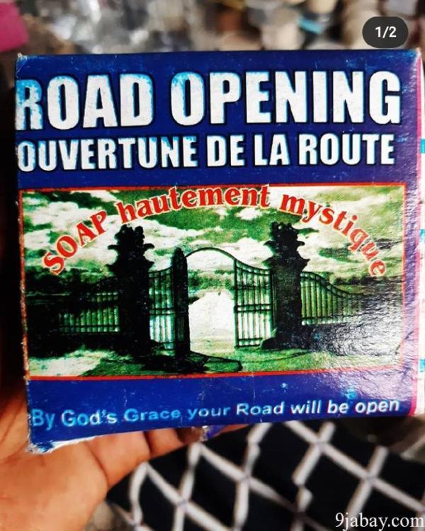 road opening soap lagos nigeria