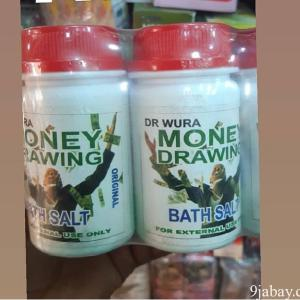 MONEY DRAW BATH SALTS FOR ATTRACTING SUCCESS AND MONEY LIKE A MAGNET