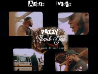 MP3 +VIDEO: Pazzy - Thank You