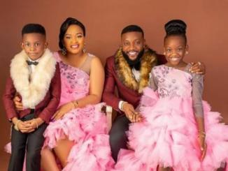 Kcee Announces Birth Of His Third Child, A Baby Boy With His Beautiful Wife