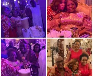 Photos from billionaire businessman, Rasaq Okoya's first wife, Kuburat's 77th birthday party